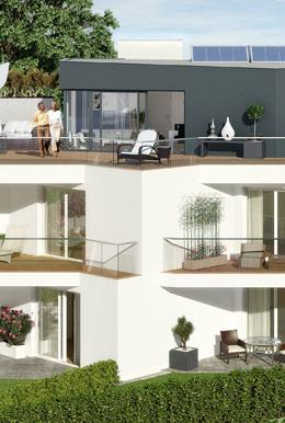 neue eigentumswohnungen und eine luxus penthousewohnung in salzburg parsch. Black Bedroom Furniture Sets. Home Design Ideas